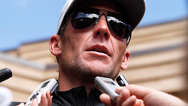 Armstrong macht sich über eigenen Tod lustig! (Bild: AP)