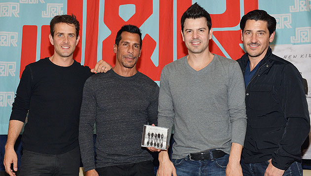 Boygroup New Kids On The Block meldet sich zurück (Bild: AFP)