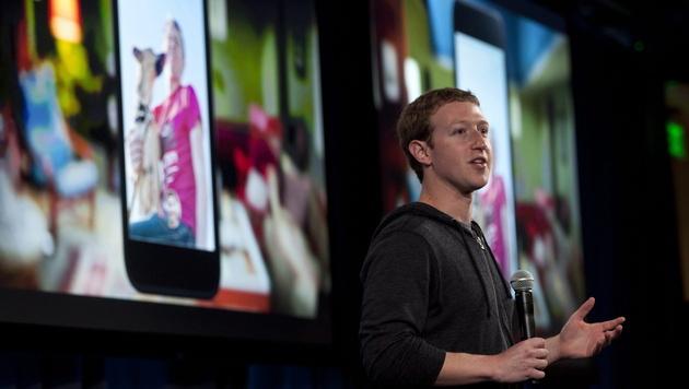 """Facebook Home"" soll Android-Geräte kapern (Bild: EPA)"