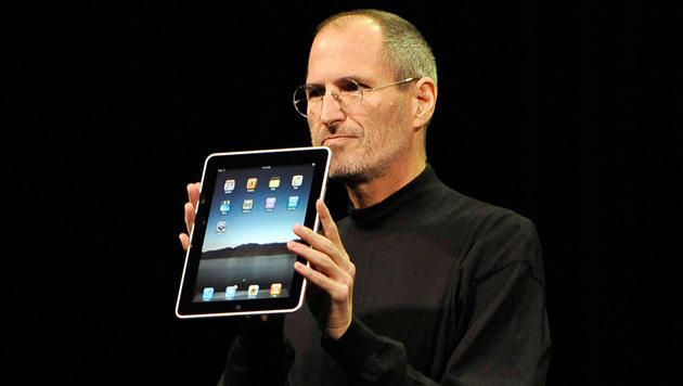 Lehrmodell: iPad-Schüler in der Steve-Jobs-Schule (Bild: EPA)