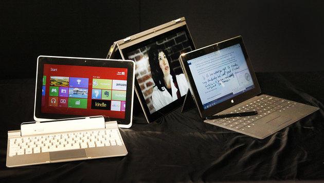 """Marktforscher: """"Tablet wird den PC langfristig ablösen"""" (Bild: AP)"""