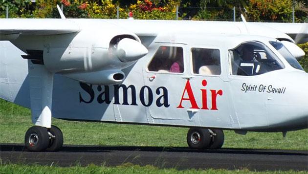 Mini-Airline berechnet Flugpreis nach Körpergewicht (Bild: www.samoaair.ws)