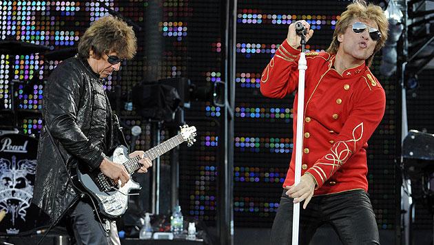 Richie Sambora steigt aus Bon-Jovi-Welttournee aus (Bild: APA/HERBERT P. OCZERET)