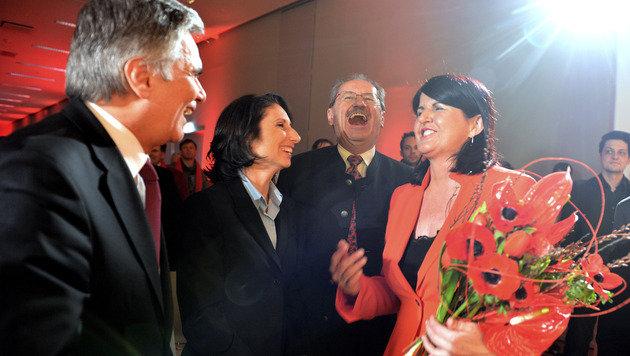 SPÖ startet ohne Pomp in den Intensivwahlkampf (Bild: APA/GINDL)