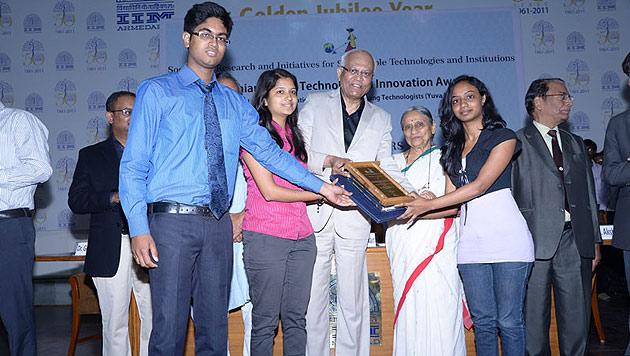 Spezial-Dessous sollen Frauen vor Sextätern schützen (Bild: Institute SRM - University, Chennai)