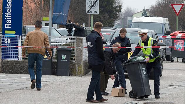 Täter zwei Stunden nach Banküberfall in Wels geschnappt (Bild: APA/WERNER KERSCHBAUMMAYR)