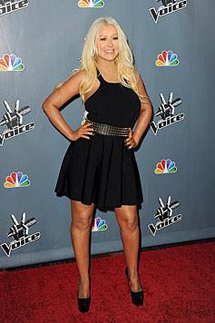 Christina Aguilera speckt für ihre Traumhochzeit ab (Bild: AFP)