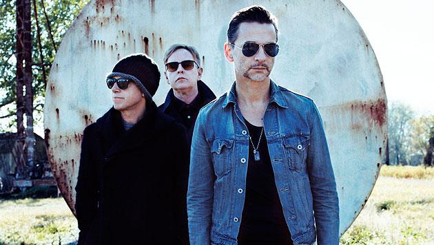 Depeche Mode sind wieder in Wien zu Gast! (Bild: Sony Music)