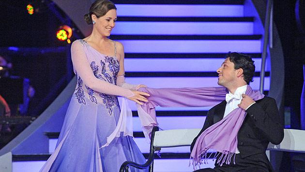 "Rudi Roubinek muss bei ""Dancing Stars"" Parkett räumen (Bild: ORF/Ali Schafler)"