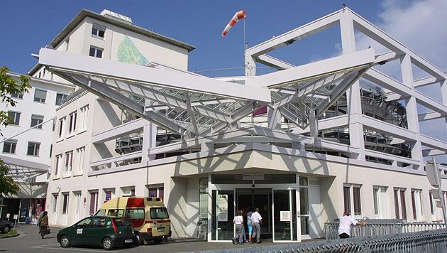 Die Kinderklinik am Grazer LKH (Bild: Christian Jauschowetz)