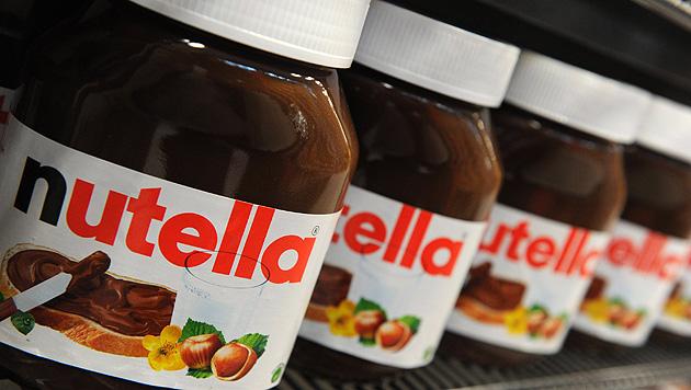 Diebe stehlen in Deutschland fünf Tonnen Nutella (Bild: EPA)