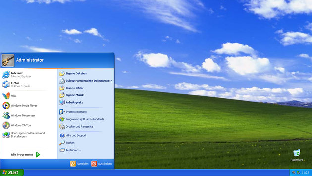 Experten: Windows XP wird zum Sicherheitsrisiko (Bild: Microsoft)