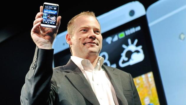 HTC leidet unter verspätetem Smartphone-Start (Bild: EPA)