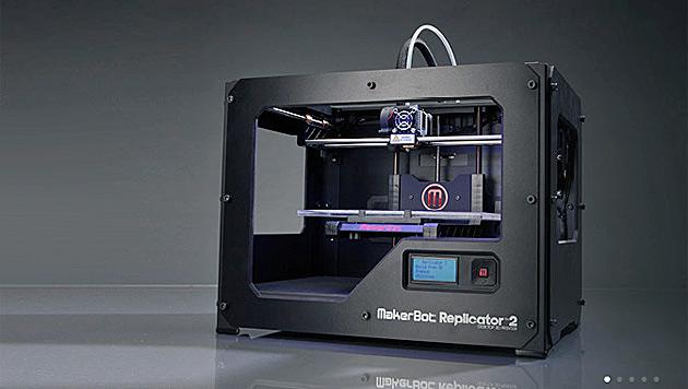 Hersteller von 3D-Druckern schließen sich zusammen (Bild: Screenshot makerbot.com)
