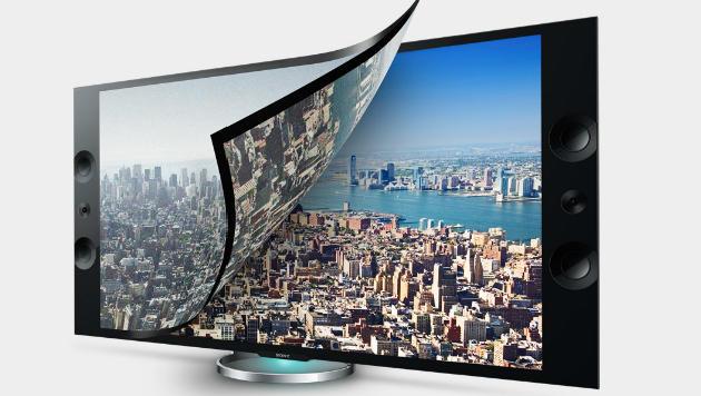 Sony nennt Preise für 4K-Fernseher mit 55 und 65 Zoll (Bild: Sony)