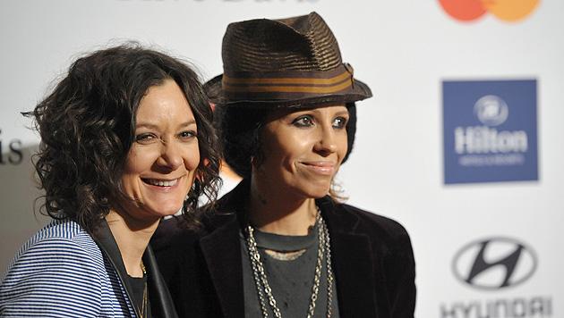 """Big Bang Theory""-Star Sara Gilbert mit Sängerin verlobt (Bild: AP)"