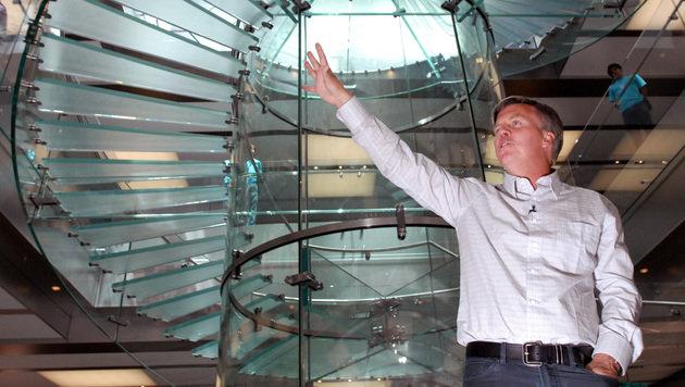 Ex-Apple-Manager fliegt bei US-Bekleidungskette (Bild: AP)