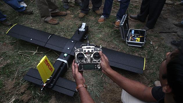 Indien: Drohnen sollen künftig Nashörner schützen (Bild: AP)