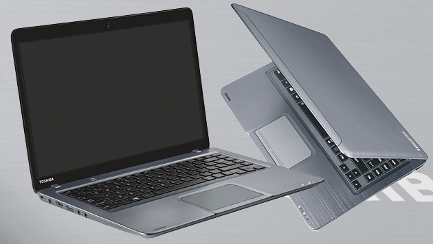 Neues Ultrabook von Toshiba mit Touch-Display (Bild: Toshiba, krone.at-Grafik)
