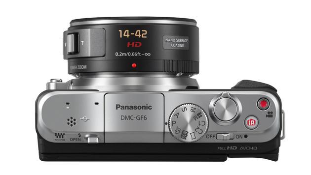 Panasonic kündigt Systemkamera Lumix GF6 an (Bild: Panasonic)