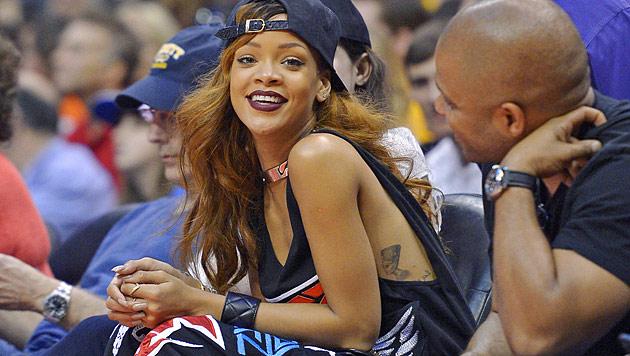 Rihanna und Chris Brown etwa schon wieder getrennt? (Bild: AP)