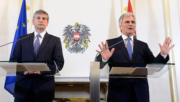 Verkleinerung des Bundesrats passiert Sommerministerrat (Bild: APA/Helmut Fohringer)