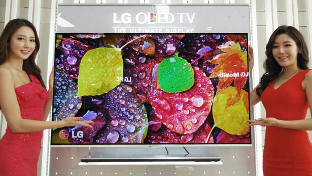 4K, OLED, Smart-TV: Diese Trends bringt die IFA (Bild: dapd)