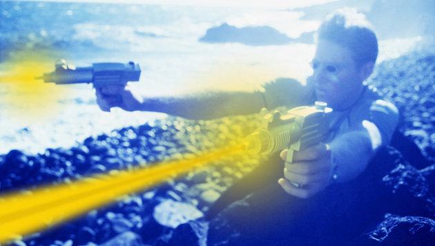 Eine neue Ära: Kommt der Krieg mit Laserwaffen? (Bild: thinkstockphotos.de)