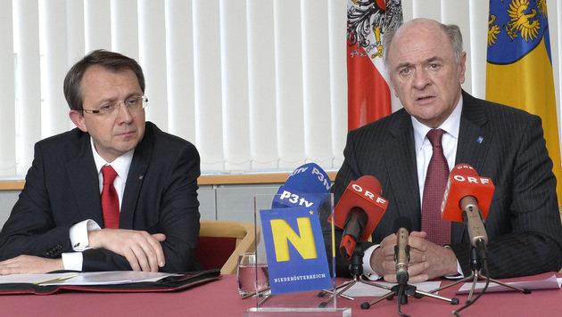 Nach NÖ-Wahl: SPÖ und ÖVP wollen enge Kooperation (Bild: APA/NLK Johann Pfeiffer)