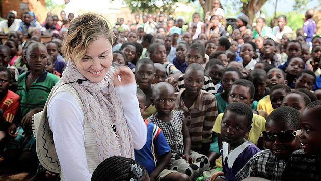 Pop-Diva sauer: Madonna verliert in Malawi VIP-Status (Bild: AP)