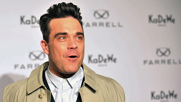 """Robbie Williams: """"Ich plane Live-Sex auf der Bühne"""" (Bild: EPA)"""