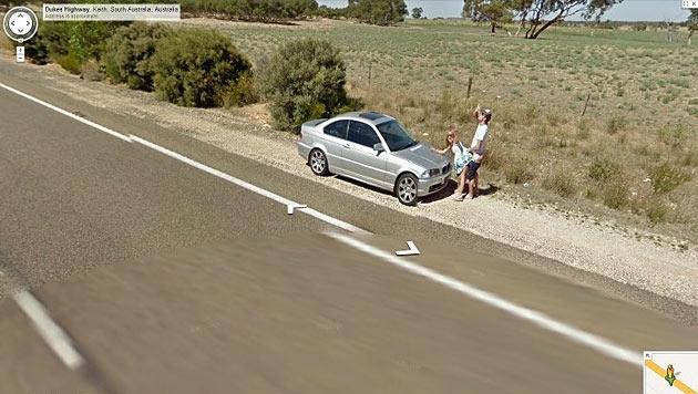 Australisches Paar beim Sex von Street View erwischt (Bild: imgur.com)