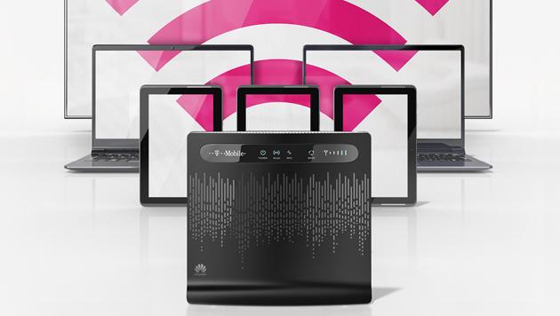 Kabel-DSL-Ersatz: T-Mobile bringt LTE-Modem für daheim (Bild: T-Mobile)