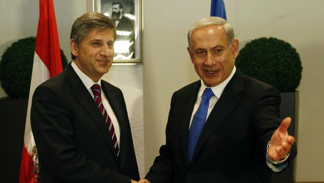 "Spindelegger in Israel: ""Wir sind keine Feiglinge"" (Bild: APA/DRAGAN TATIC)"