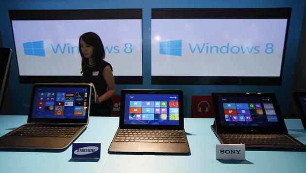 """US-Marktforscher: """"Windows 8 ist gescheitert"""" (Bild: AP)"""