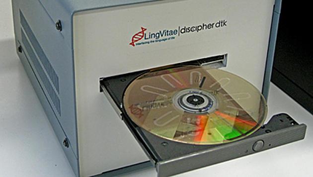 Schweden bauen HIV-Testgerät aus altem DVD-Player (Bild: KTH)