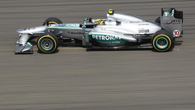 """Hamilton holt vor Räikkönen """"Pole"""", Vettel nur Neunter (Bild: EPA)"""