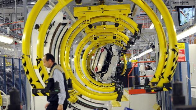 Ö: Wirtschaft wächst heuer nur um 0,8 Prozent (Bild: EPA)