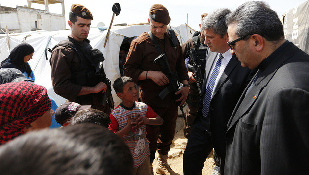 """Spindelegger: """"Hilfe für Syrien wird aufgestockt"""" (Bild: APA/Dragan Tatic)"""
