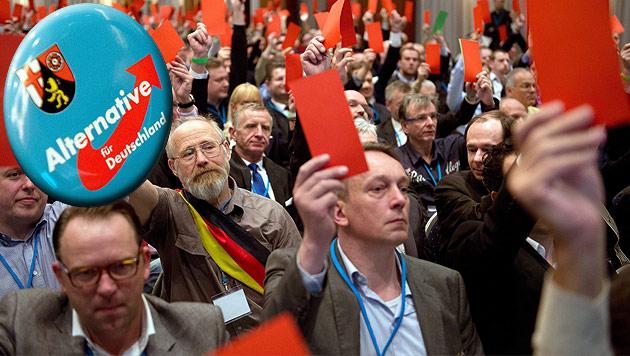 Kern warnt vor Ausgrenzung von FPÖ und AfD (Bild: EPA, krone.at-Grafik)