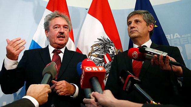Luxemburg will mit Österreich an einem Strang ziehen (Bild: APA/DRAGAN TATIC)