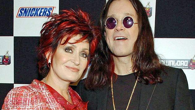 Ozzy und Sharon Osbourne: Ehe-Aus nach 31 Jahren? (Bild: EPA)
