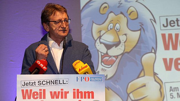 "Salzburgs FPÖ-Chef sieht teilweise ""Umvolkung"" (Bild: APA/NEUMAYR/SUSI BERGER)"