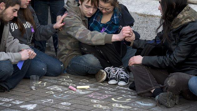 Anonymous brachte Vergewaltiger vor Gericht (Bild: AP)