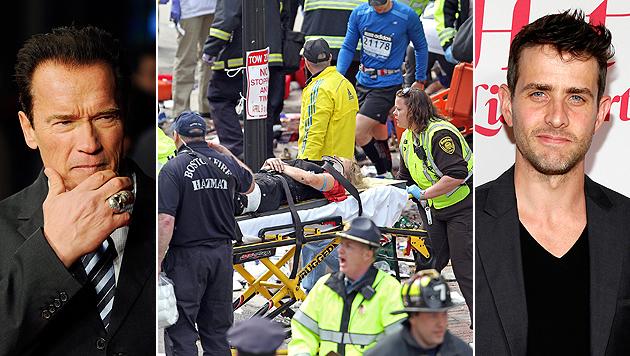Boston-Anschlag: Schock und Trauer bei den Stars (Bild: EPA, AP)