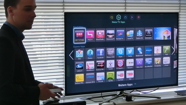 Neue Funktionen für Samsungs Smart-TV-Geräte (Bild: Sebastian Räuchle)