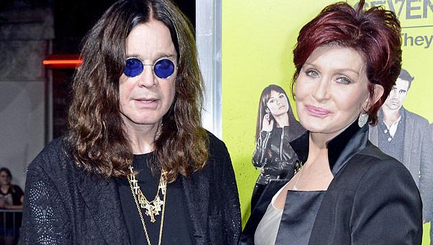 Ozzy Osbourne dementiert Gerücht um Scheidung (Bild: EPA)