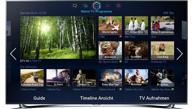 Streit um Nutzerdaten bei Smart-TVs vor Gericht (Bild: Samsung)