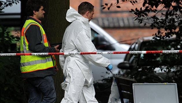 """Deutsche Polizei erschießt """"Macheten-Mann"""" (Bild: EPA)"""