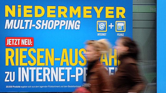 Niedermeyer-Pleite: Suche nach Investor dauert an (Bild: APA/BARBARA GINDL)